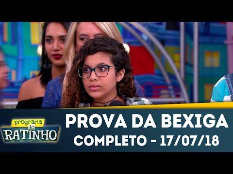 Prova da Bexiga - Completo | Programa do Ratinho (17/07/2018)