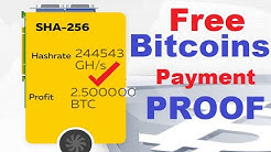 100% Real ✅ LEGIT !!!! Free Bitcoin Cloud Mining Website + Payment Proof -Earn Free Bitcoins Daily