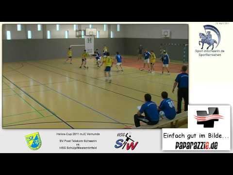 Handball Helios-Cup mJC 26:30 (14:14) SV Post Telekom Schwerin vs. HSG Schülp/Westerrönfel