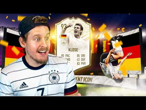 THE LEGEND OF SALTO! 93 PRIME ICON MOMENTS KLOSE PLAYER REVIEW! FIFA 20 Ultimate Team