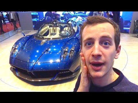 Million Pagani Huayra Ft Koenigsegg Geneva Car Show