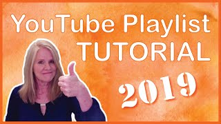 How To Create a Playlist on YouTube - 2019