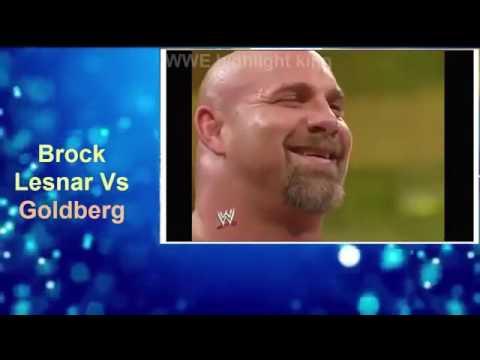 Goldberg vs Rock vs John Cena Vs Brock...