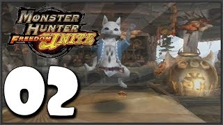 Monster Hunter Freedom Unite Part 2 - Beginner