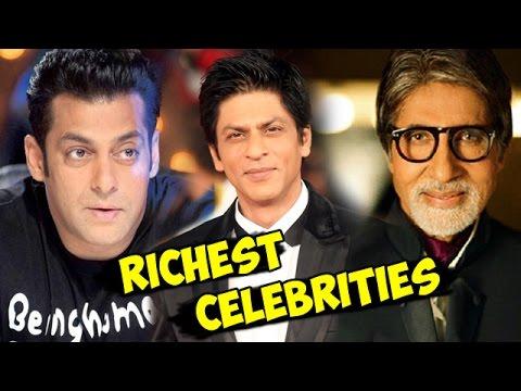 Top 10 RICHEST Bollywood Actors Of 2015   Salman Khan, Shahrukh Khan
