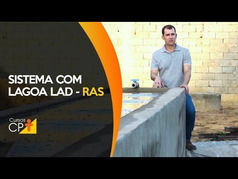 Clique e veja o vídeo Como funciona o sistema com lagoa LAD (Lagoa Autodepuradora) em RAS