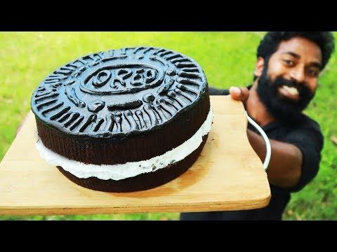 Home Made OREO Cake   ഓവൻ ഇല്ലാതെ അടിപൊളി ഓറിയോ  കേക്ക്   M4 Tech  