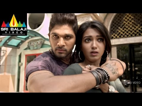 Iddarammayilatho Movie Allu Arjun Action | Allu Arjun, Amala Paul, Catherine | Sri Balaji Video