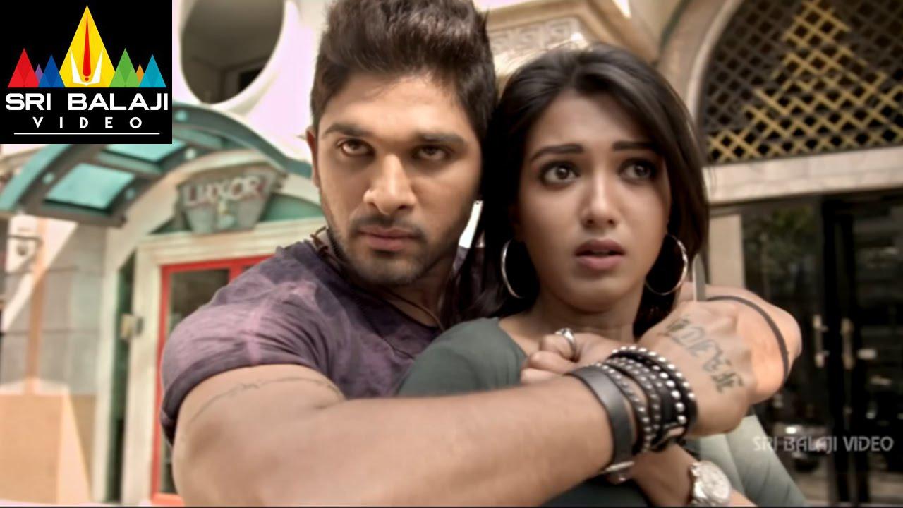 Download Iddarammayilatho Movie Allu Arjun Action | Allu Arjun, Amala Paul, Catherine | Sri Balaji Video
