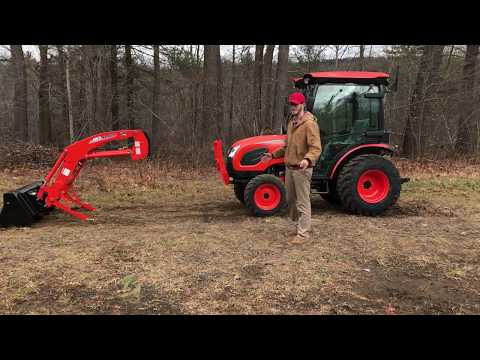 Kioti CK2610 HST Tractor Loader Backhoe Walkthru & Operation