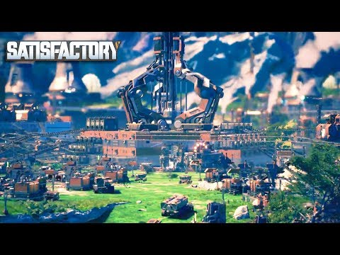 [LIVE🔴] INSANE NEW BASE MULTIPLAYER BUILDING FACTORY GAME   Satisfactory  Gameplay