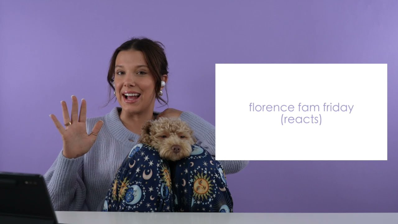 florence fam friday: mills reacts