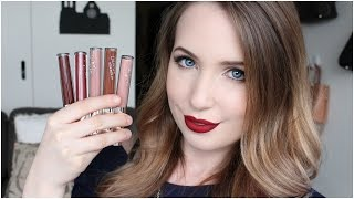 One of Arna Alayne's most viewed videos: Colourpop Ultra Matte Lip Unboxing & Swatches on Pale Skin | Arna Alayne
