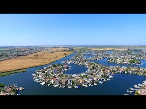 Discovery Bay, CA Aerial Scenery