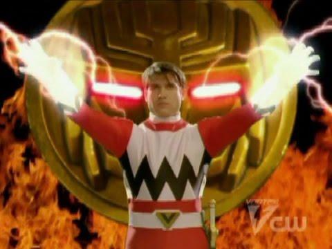 Power Rangers Lost Galaxy - Power Rangers First Team Morph