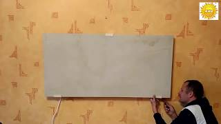 видео Инфракрасные картины-обогреватели на стену