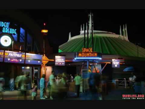 Walt Disney World music- Space Mountain entrance music ...