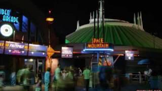 Walt Disney World music- Space Mountain entrance music