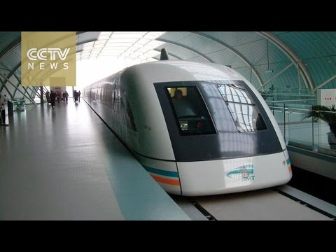 China plans to develop maglev train that can exceed 600km/h