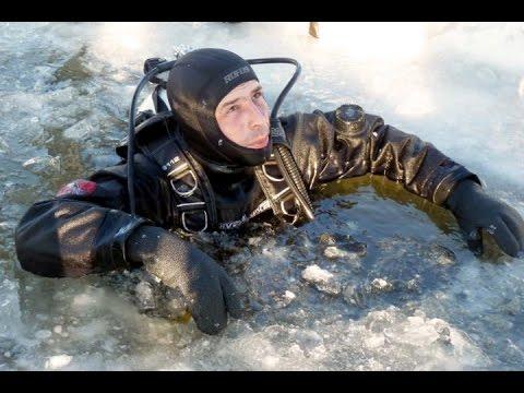Поиски Любы Шастиной Серов 8 марта 2015 Работа водолаза