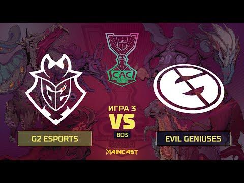 G2 Esports vs Evil Geniuses vod