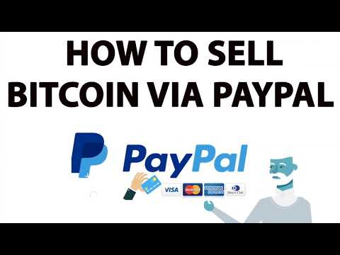 how to sell bitcoin to paypal