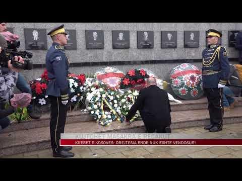 Kosovë, përkujtohet masakra e Reçakut - News, Lajme - Vizion Plus