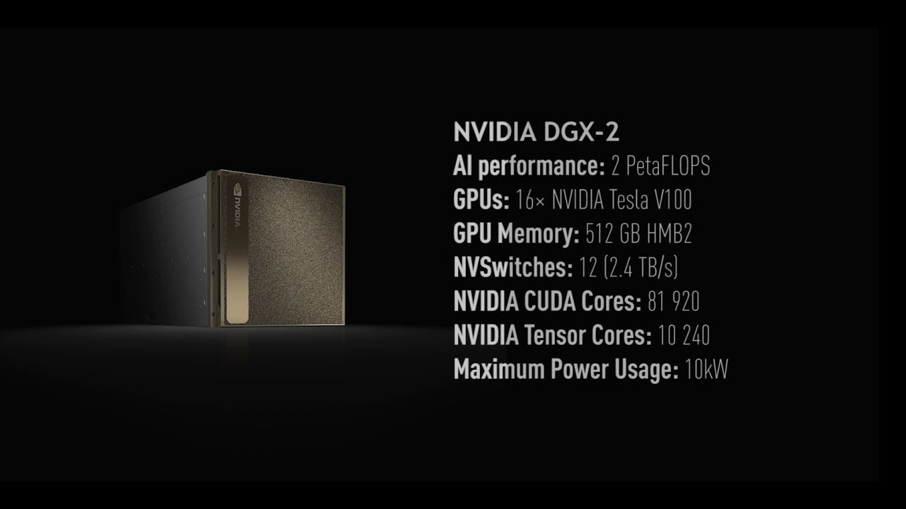 NVIDIA DGX systems – Supercomputers for machine learning and AI