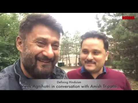 """""""What is Hinduism?"""" - India's two bestselling authors, Vivek Agnihotri & Amish in conversation."""
