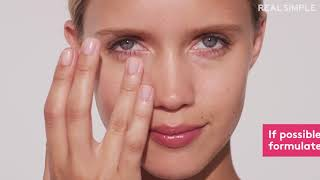 HOW TO FIX RED PUFFY EYES AFTER CRYING BY REALSIMPLE