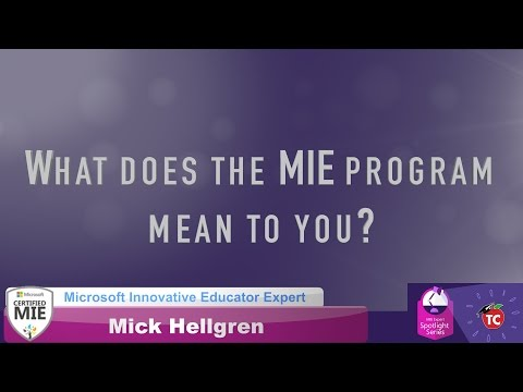 Mick Hellgren: What makes the MIE program so special?