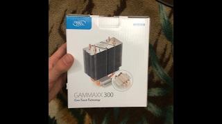 Обзор Куллера DeepCool Gammaxx 300