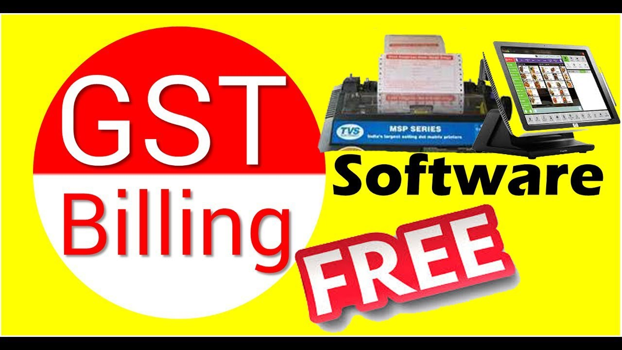 GST Ready Free Billing Software For Retail Or Wholesale Business - Invoice scanning software free best online watch store