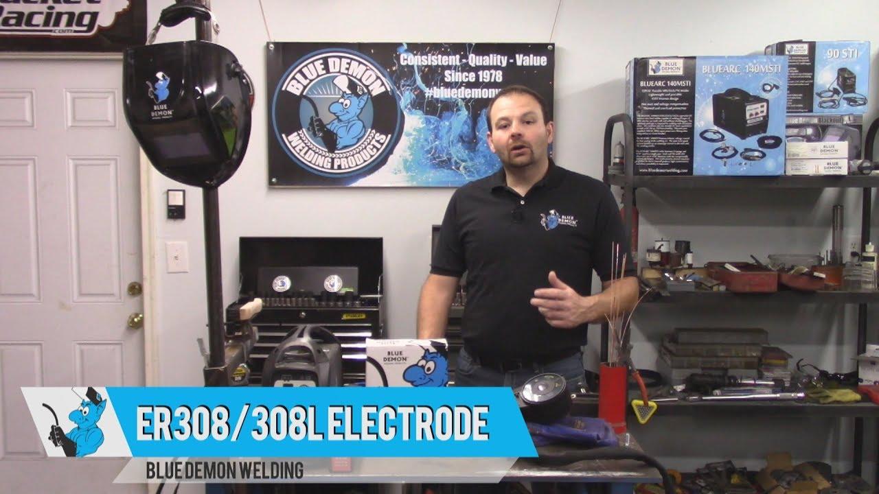 Sponsored Video: Blue Demon\'s ER308/308L Welding Filler Wire - YouTube