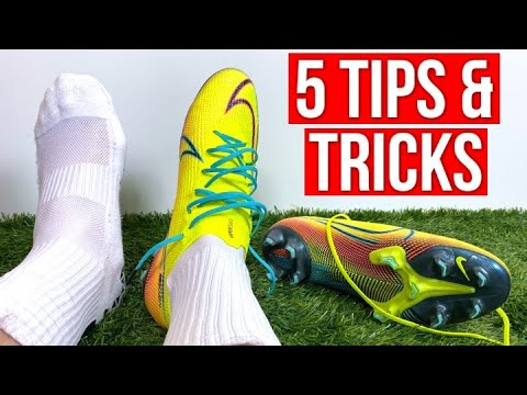 5 TIPS & TRICKS FOR NEW FOOTBALL BOOTS