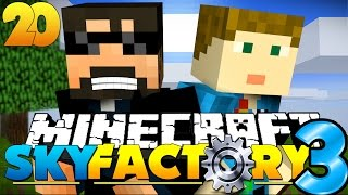 Repeat youtube video Minecraft: SkyFactory 3 - EATING BRAINS AND INSANITY!! [20]