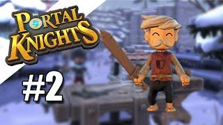 NOWY ŚWIAT - Portal Knights 02【Gnomek】