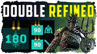 Double REFINED Legendary Gear - Max level 180 - GLADIATOR: For Honor