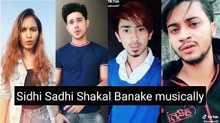 Gambar cover Sidhi Sadhi Shakal Banake Musically Videos || New Musical.ly Video Compilation