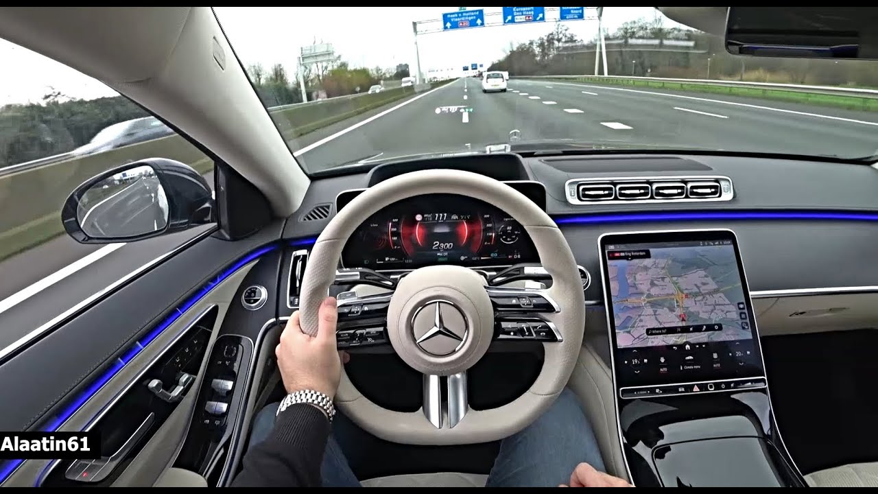 Mercedes S Class AMG 2021 - POV Test Drive Review Day and Night By Alaatin61