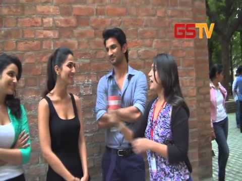 Candid Interaction With Star Cast of film Shuddh Desi Romance with GSTV