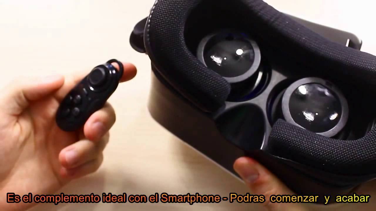 Realidad Virtual De Gafas Vr Box Mando Bluetooth Youtube