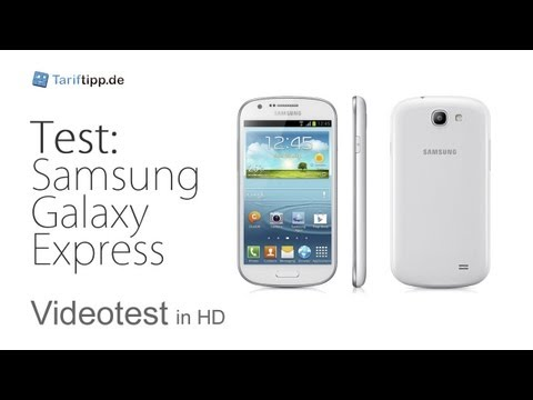 Samsung Galaxy Express | Test in deutsch (HD)