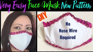 190 How To Sew The Very Best Fitted Elegant Face Mask For The Special Day Easy Sewing Tutorial