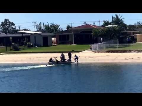 Queensland Police Capture Man With Gaff Hook After Commandeering A Boat