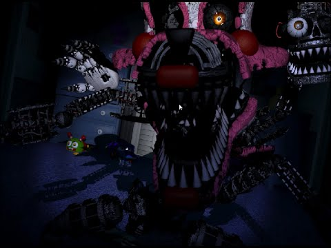 Nightmare Mangle Jumpscare by SOME DEAD CHANNEL THAT IS ...