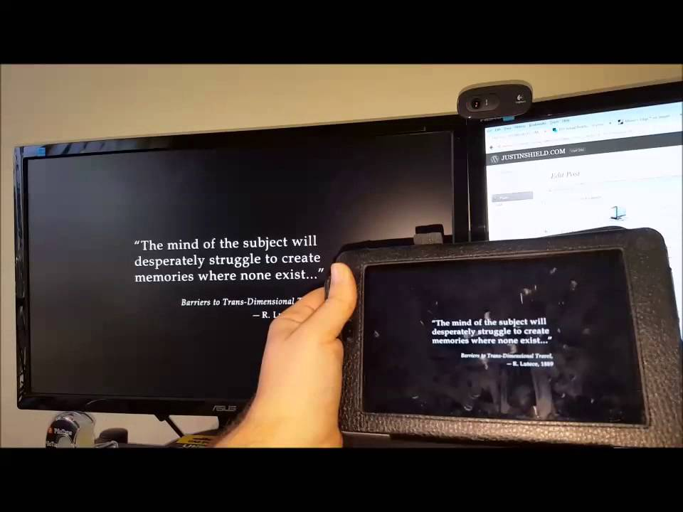 DIY Virtual Reality – In your pocket - Justin Shield