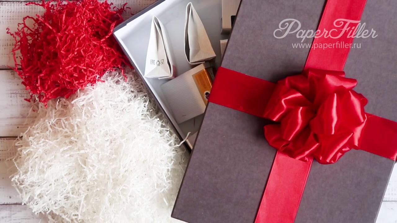Как украсить коробку с подарком своими руками фото 956