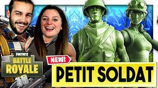 "ON A CRAQUÉ ON THESE NEW SKINS ""PETIT SOLDAT""! FORTNITE SANGSUE DUO EN"