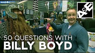 50 questions with billy boyd
